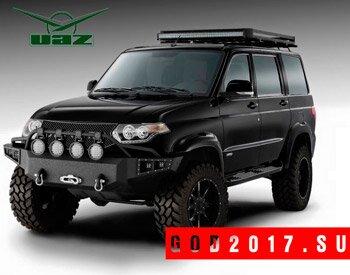 УАЗ Патриот 2016-2017 модельного года