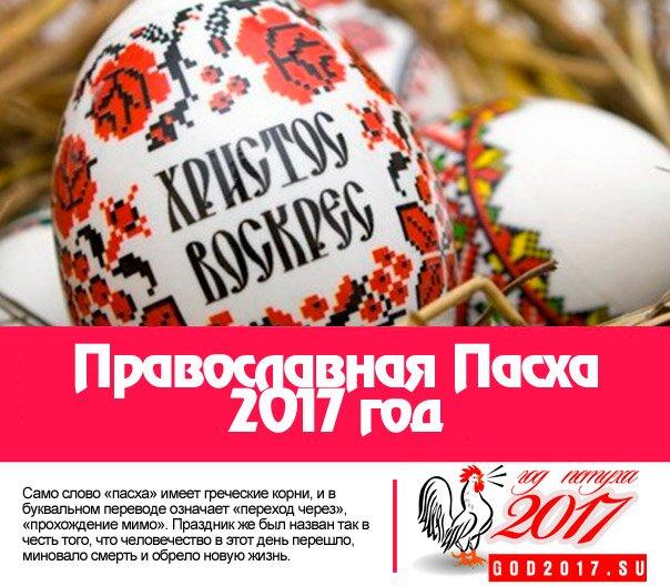 Православная Пасха 2017