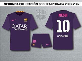 Форма Барселоны 2016 – 2017