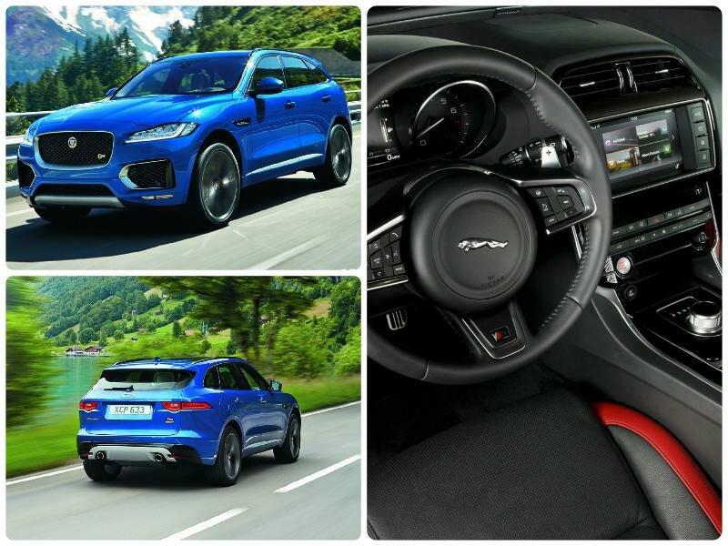 Новинки авто 2016-2017 - ТОП 7.Обзор авто Jaguar F-Pace