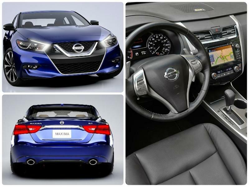 Новинки авто 2016-2017 - ТОП 7.Обзор авто Nissan Maxima