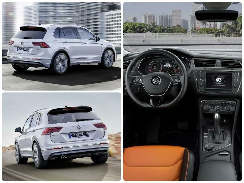 Новинки авто 2016-2017 - ТОП 7.Обзор авто Volkswagen Tiguan