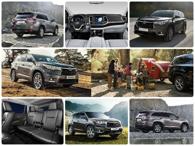 Тойота Хайлендер 2017 новый кузов. Комплектации и цены, технические характеристики, старт продаж в России