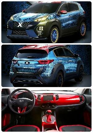 Kia Sportage X-Man 2017