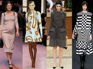 Модные Платья Зима