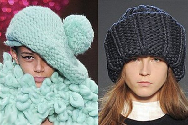 Модные шапки осень - зима 2016 - 2017