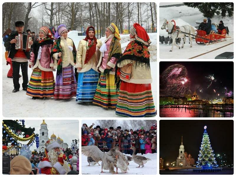 Новый год в Суздале 2017. Отдых зимой, ранее бронирование новогодних туров