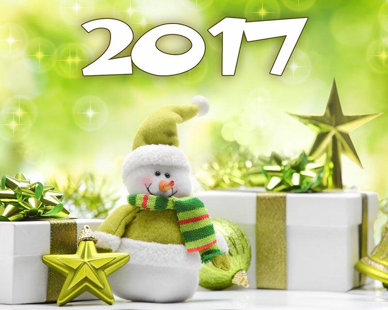 Картинки з Новим роком 2017 рік Півня високої якості