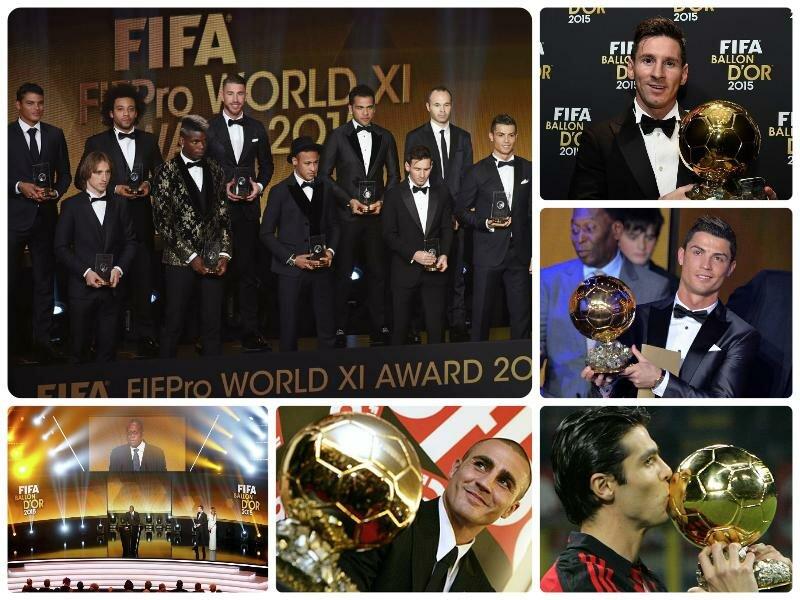 Церемония Золотой мяч 2017. Когда вручение, претенденты
