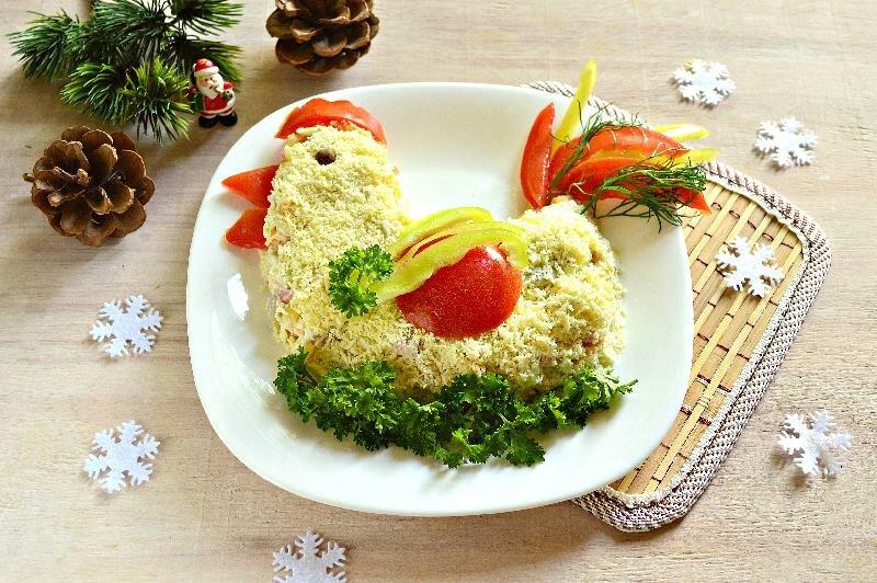 Салаты на новый год рецепты новогодних салатов с