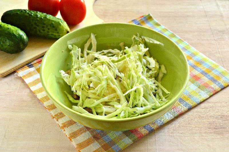 Рецепт овощного диетического салата