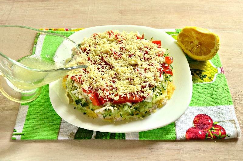Легкий салат рецепт на новый год