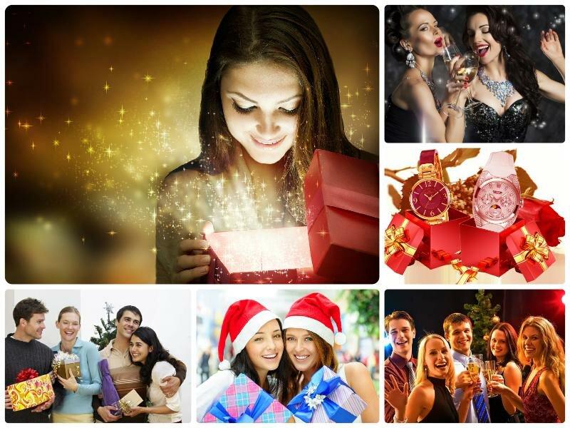 Что подарить на Новый 2017 год подруге. Идеи подарков