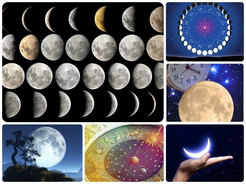Лунный календарь на 2017 год январь. Фазы Луны