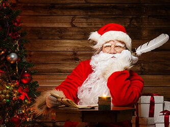 Письмо от Деда Мороза 2017 шаблон скачать бесплатно
