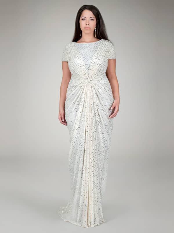 Платье на Новый год 2017 для полных женщин