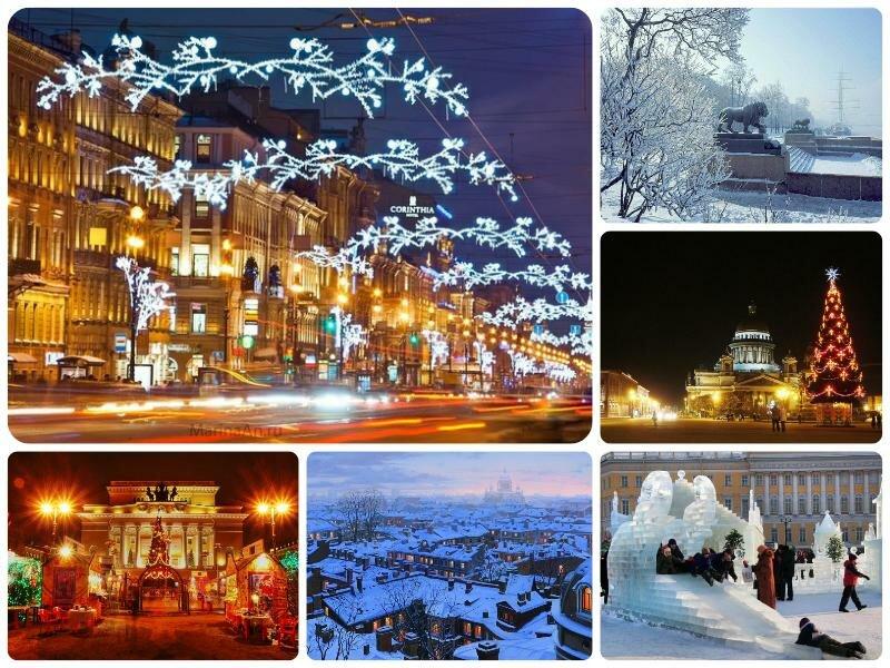 Прогноз погоды на январь 2017 в Санкт-Петербурге