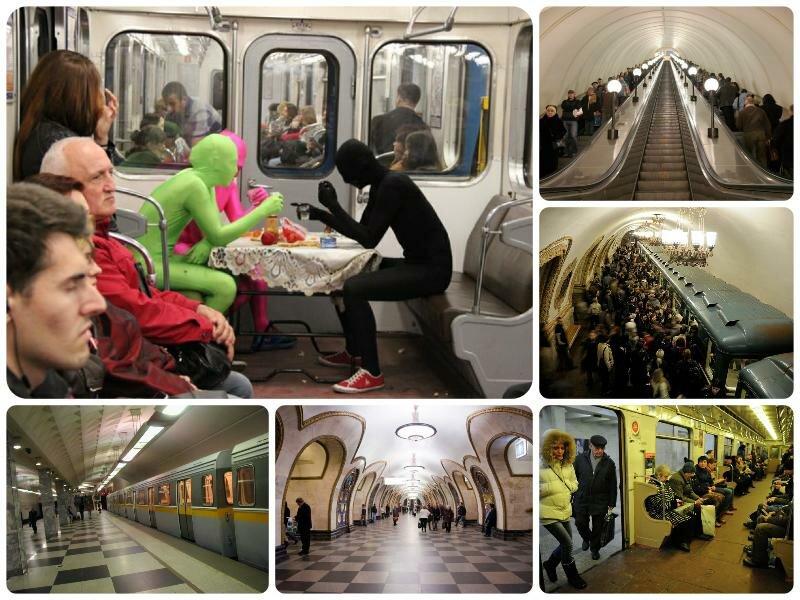 Работа метро в новогоднюю ночь 2017 в Москве. Расписание