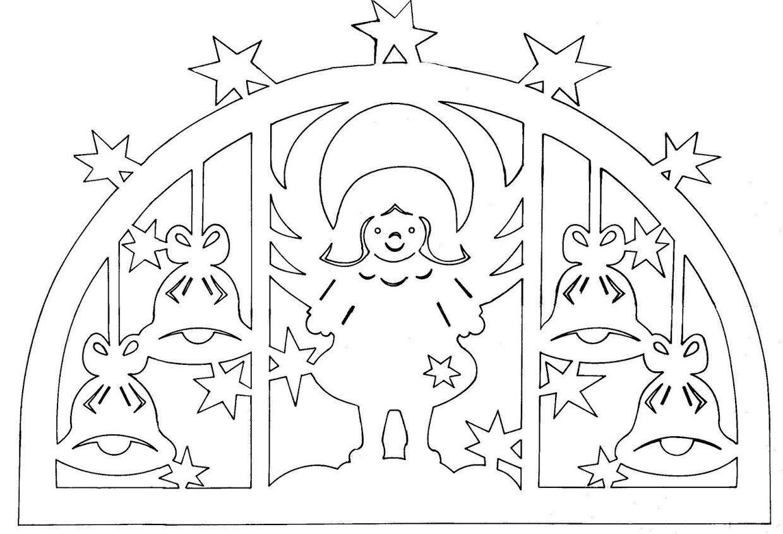 Новогодние украшения из бумаги на окна своими руками