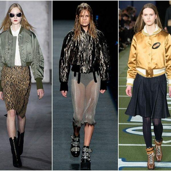 Модные куртки осень-зима 2016 - 2017