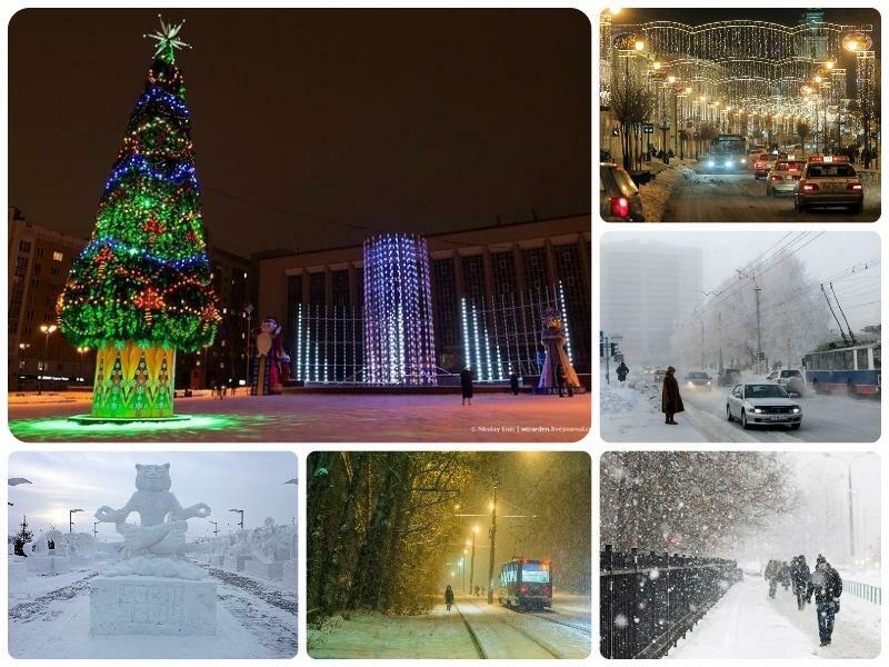 Погода на январь 2017 в Новосибирске