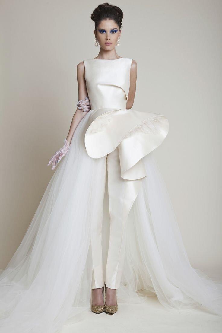 Свадебные платья 2017. Новинки, модные тенденции, фото