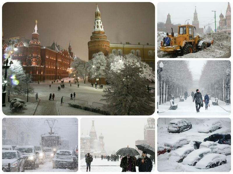 Будет ли снег на Новый год 2017 в Москве. Прогноз погоды