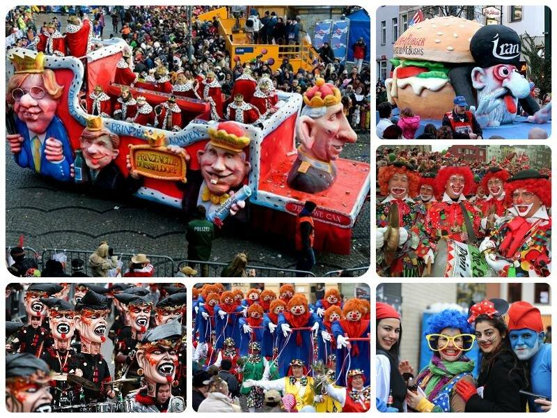 Карнавал в Германии 2017. Какого числа