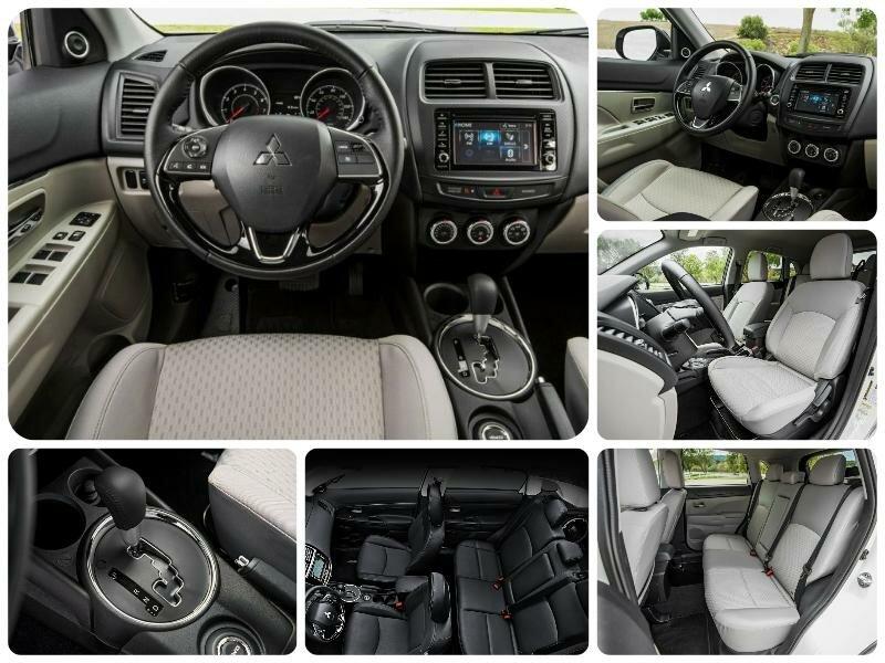 Обновленная Mitsubishi ASX 2017 модельного года. Последние новости