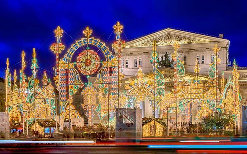 Новогодняя Москва 2017 - фото
