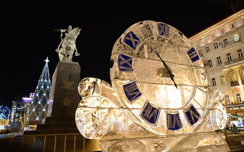 Новогодняя Москва 2017, фото самых красочных мест столицы