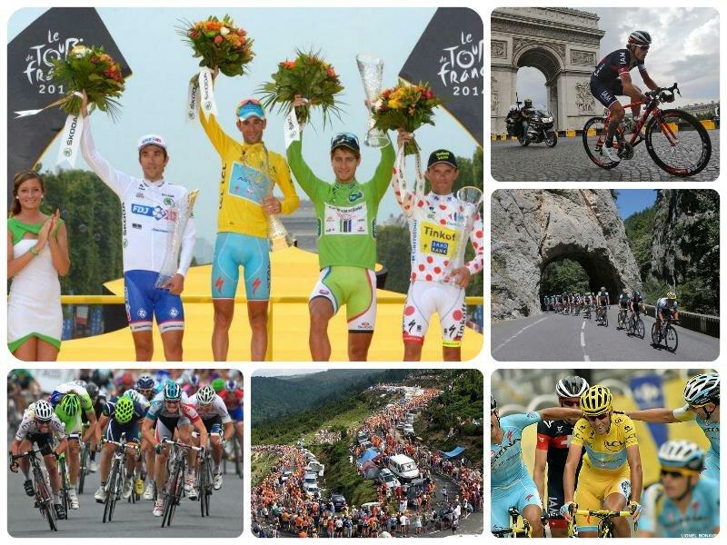 Тур де Франс 2017. Расписание, этапы, общий зачет