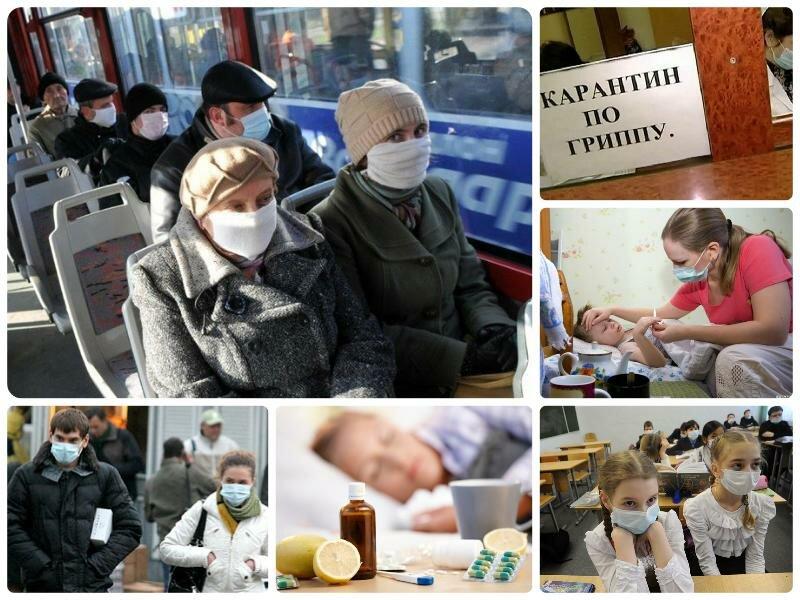 Эпидемия гриппа в Санкт-Петербурге 2017. Профилактика, лечение, карантин