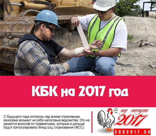 КБК на 2017 год