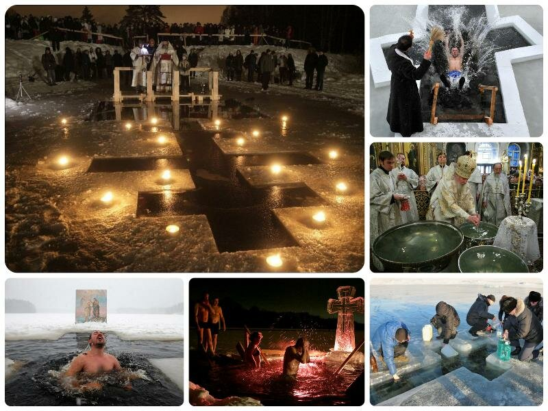 Купание на Крещение 2017 в Москве. Где будет