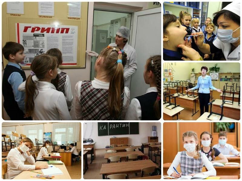 Карантин в школах Челябинска 2017. Последние новости