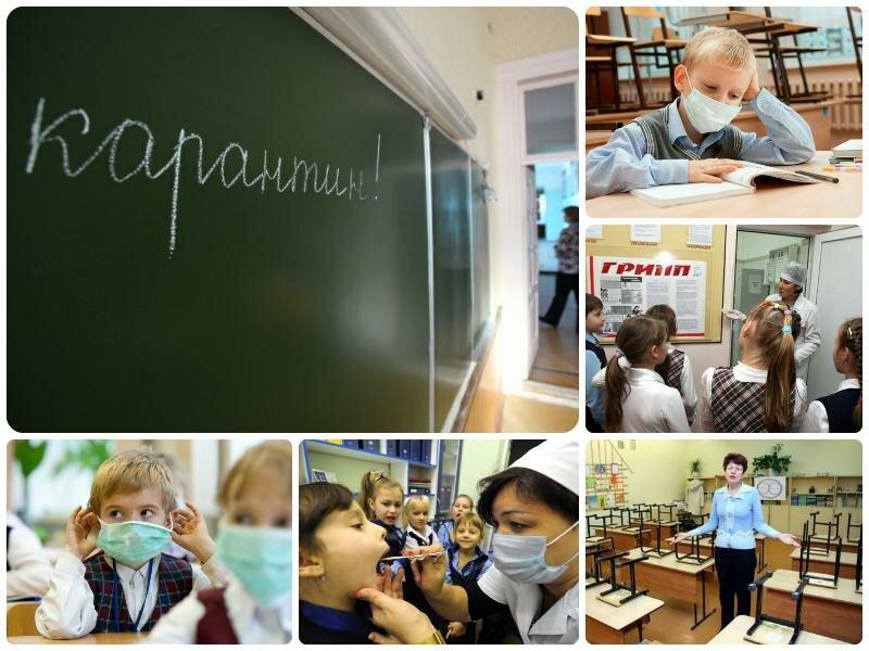 Карантин в школах Воронежа 2017. До какого числа, продление