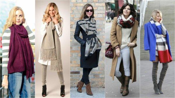 Модные шарфы 2017