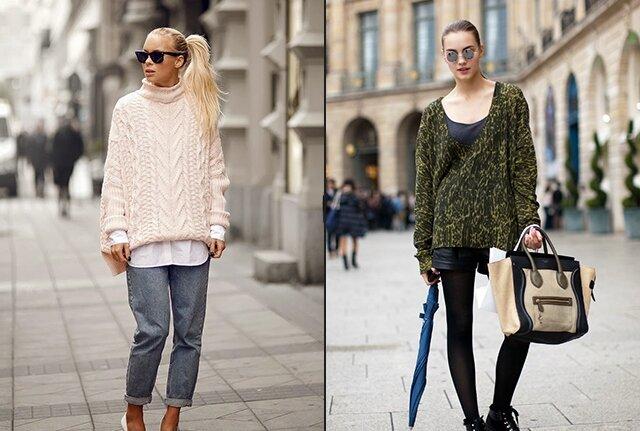 Модные свитера 2017