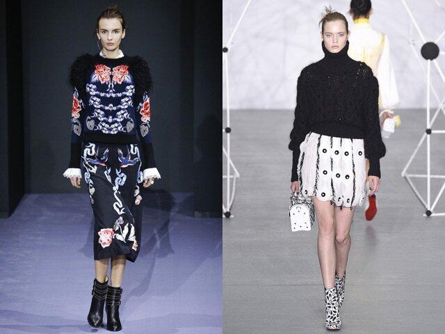 Модные свитера 2017 года. Новинки, тенденции, фото