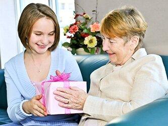 Подарок бабушке на Новый год 2017