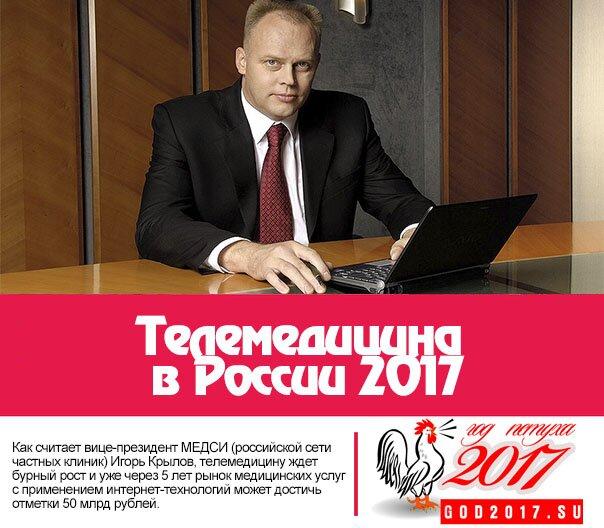 Телемедицина в России 2017