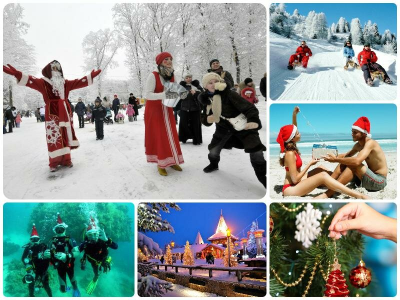 Выходные и праздники в январе 2017. Как отдыхаем в России