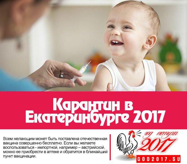 Карантин в Екатеринбурге 2017