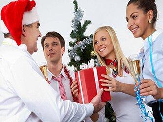 Корпоративные подарки на Новый год 2017