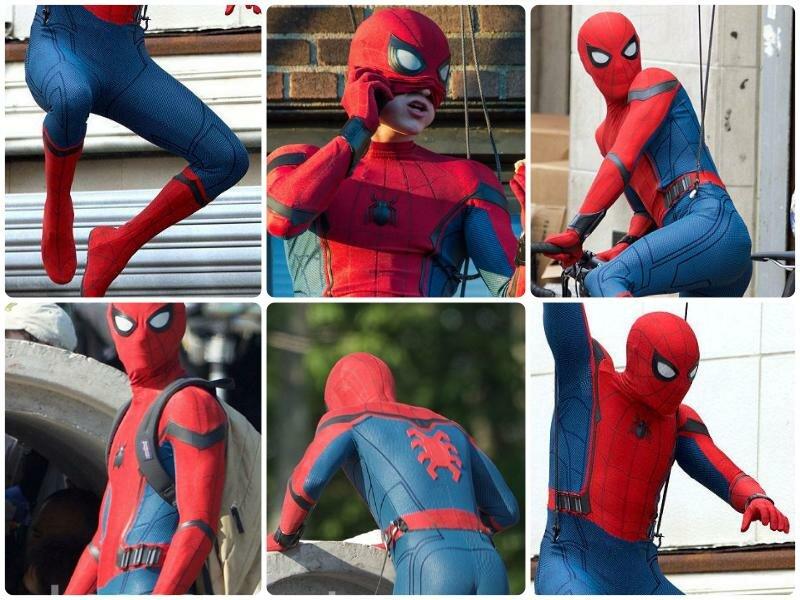 Костюм Человека-паука 2017 в фильме «Человек-паук: Возвращение домой», фото