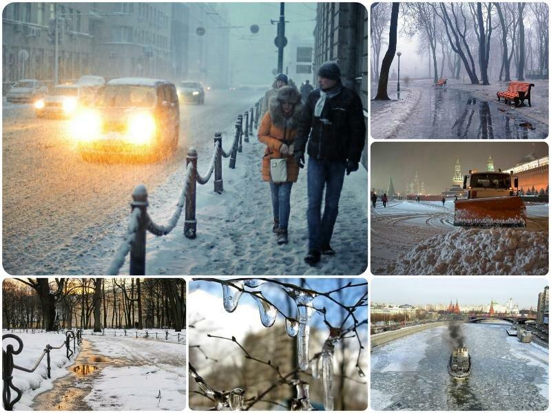 Погода на март 2017 в Москве и Московской области